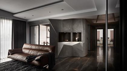 混搭风粗狂奢华打造低调大气的优质住宅!
